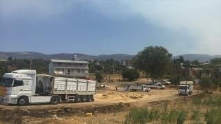 Yangın mağduru besiciler için Türkiye seferber oldu