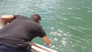 Eğirdir Gölü'nden alınan numune sonuçlarının temiz çıktığı bildirildi