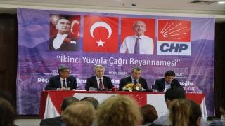 CHP Genel Başkan Yardımcısı Bülent Kuşoğlu, Hatay'da panele katıldı