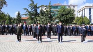 Burdur'da 19 Eylül Gaziler Günü törenle kutlandı