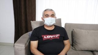Isparta'da doktorun darbedilme anı güvenlik kamerasına yansıdı