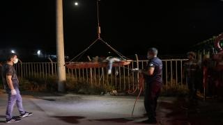 Adana'da kayıp olarak aranan kişinin cesedi kanalda bulundu
