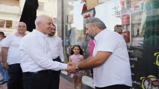 Akdeniz Belediye Başkanı Gültak'tan esnaf ziyareti