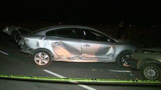 Kahramanmaraş'ta zincirleme trafik kazasında 7 kişi yaralandı