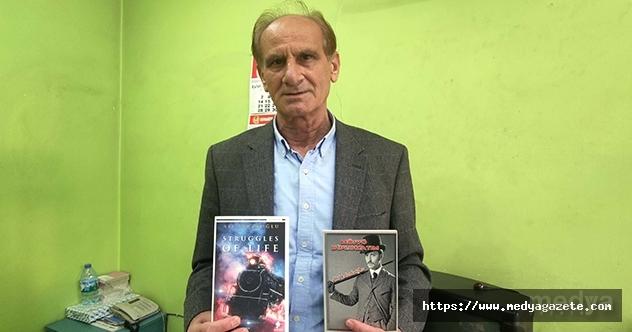 """Yazar Tabakoğlu'nun """"Dram Treni"""" adlı kitabı İngilizce yayınlandı"""
