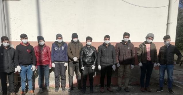 Osmaniye'de yolcu otobüsünde 10 düzensiz göçmen yakalandı, şoför gözaltına alındı
