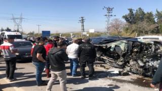Mersinde zincirleme kaza: 4 yaralı