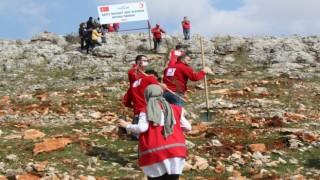 Suriyede şehit olan Kızılay görevlisi anısına hatıra ormanı kuruldu