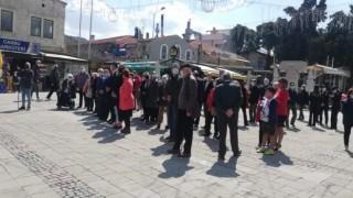 Atatürkün Foçaya gelişinin 87. yılı törenlerle kutlandı