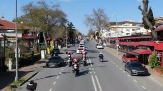 Bakırköy Emniyetinden Polis Haftası konvoyu