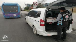 Kadıköyde trafikte makas atan minibüs şoförüne bin 483 TL ceza