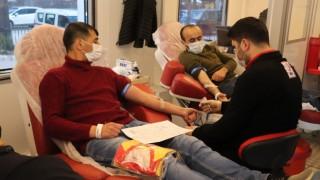 Kızılcabölükspordan kan bağışına formalı destek