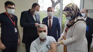 Osmaniye'de Alman Biontech aşısı yapılmaya başlandı