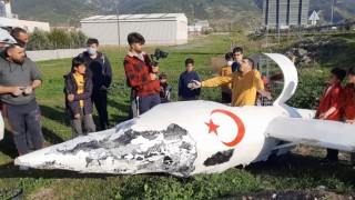 Osmaniyede garip bir olay, hava aracı düştüğünü duyan koşup geldi