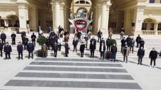 Pandemi mağduru müzisyenlerden teşekkür konseri