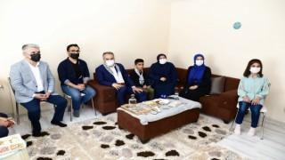 Bursadan zulme uğrayan Filistine güçlü destek