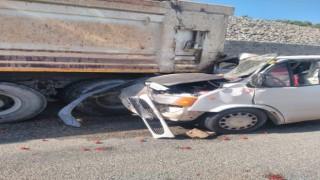 Simavda trafik kazası: 1 ölü, 1 yaralı