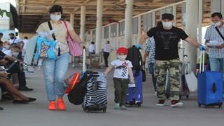 3 haftada 518 bin kişi hava yoluyla Antalyaya geldi