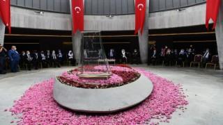 9. Cumhurbaşkanı Süleyman Demirel vefatının 6'ncı yılında kabri başında anıldı