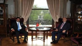 ADÜ Rektörü Aldemir, İstanbul Üniversitesi ve Yeni Yüzyıl Üniversiteleri Rektörleri ile görüştü
