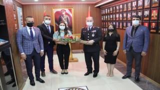 Ağrı Milli Eğitim Müdürü Tekin, Jandarma Teşkilatının 182. kuruluş yıl dönümünü kutladı