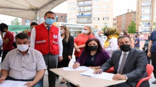 AK Partiden, İyilik Kanımızda sloganı ile kan bağış kampanyasına destek