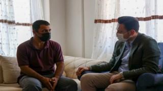 AK Partili Makastan acılı aileye taziye ziyareti