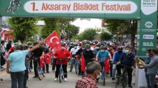 Aksarayda Yeni Nesil Bisiklet Sistemi Projesi hayata geçirildi