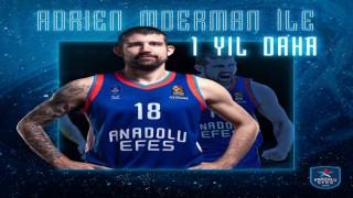 Anadolu Efes: 2018-2019 sezonundan bu yana formamızı terleten oyuncumuz Adrien Moerman ile 1 yıllık sözleşme yeniledik.
