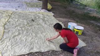Artvinde meşhur İşhan Pekmezi geleneksel yöntemlerle hazırlanıyor