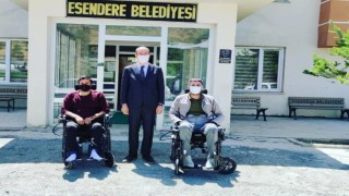 Başkan Büyüksudan engelli bireylere destek