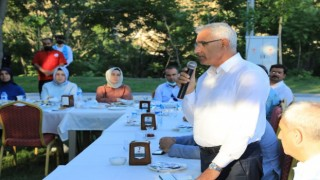 Başkan Güder, personellerle istişare toplantısı yaptı