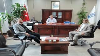 Başkan Koloğlu, İSKİ ile bilgi alışverişinde bulundu