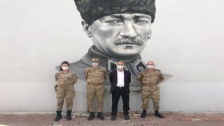 Başkan Öztürkten Jandarmaya kutlama ziyareti