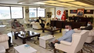 Başkan Vekili Manava meclis üyelerinden ziyaret
