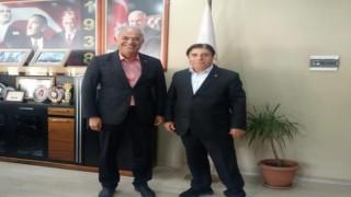 Başkan Yaman, gün boyu ziyaretçileri kabul etti