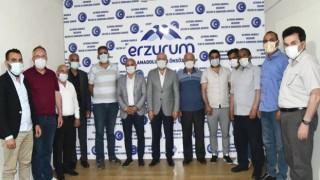Başkanlardan Erzurumlulara ziyaret