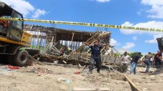 Başkentte inşaattaki göçükte oğlu öldü, baba yaralandı