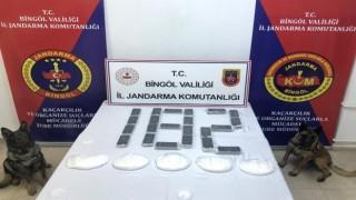 Bingölde 2 milyon 200 bin TL değerinde uyuşturucu ele geçirildi