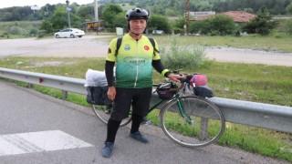 Bisiklet yolu farkındalığı için İstanbuldan Gürcistana pedal çeviriyor