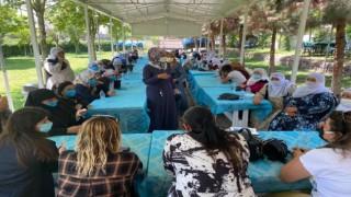 Bismil Belediyesi kadınlarla buluştu