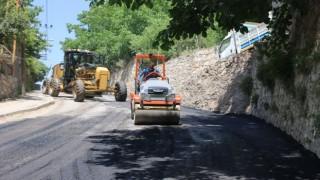 Bitlis Belediyesinden sıcak asfalt çalışması