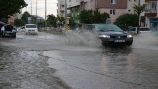 Boluda, metrekareye 10,4 litre yağmur düştü