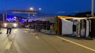 Bursada feci kaza: 1 ölü, 1i bebek 2 ağır yaralı