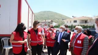Büyükkılıç Türk Kızılayı hayır panayırında
