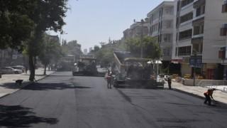 Büyükşehir, Ordu Caddesinin asfaltını yeniledi