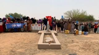 Çadın 17 köyüne su kuyusu açıldı