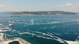 Çanakkale Boğazında 1 haftada 198 metreküp müsilaj toplandı