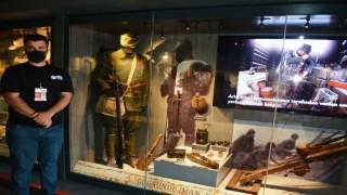 Çanakkale Savaşları Mobil Müze Tırı Ayvalıkta