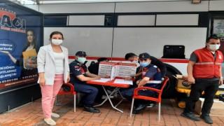 Çaycumada 175 ünite kan bağışında bulunuldu